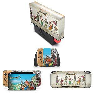 KIT Nintendo Switch Skin e Capa Anti Poeira - Dragon Quest