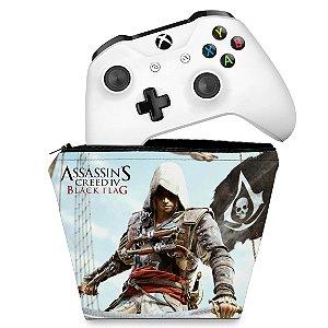 Capa Xbox One Controle Case - Assassins Creed Black Flag