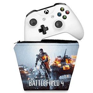 Capa Xbox One Controle Case - Battlefield 4