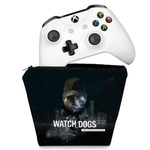 Capa Xbox One Controle Case - Watch Dogs