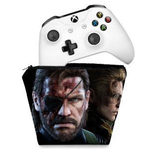 Capa Xbox One Controle Case - Metal Gear Solid V