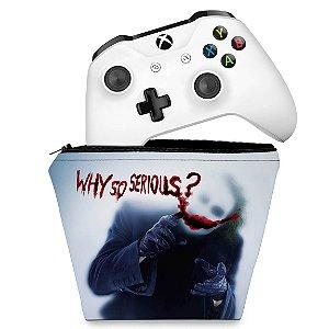 Capa Xbox One Controle Case - Coringa - Joker