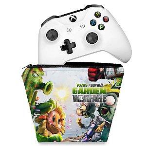 Capa Xbox One Controle Case - Plants Vs Zombies Garden Warfare