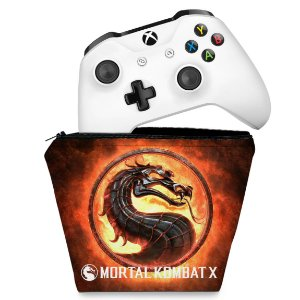 Capa Xbox One Controle Case - Mortal Kombat