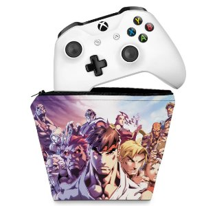 Capa Xbox One Controle Case - Street Fighter