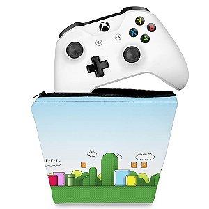 Capa Xbox One Controle Case - Super Mario
