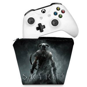 Capa Xbox One Controle Case - Skyrim