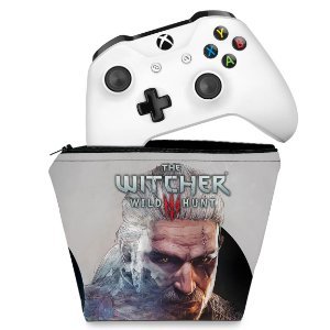 Capa Xbox One Controle Case - The Witcher 3 #B