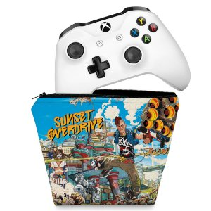Capa Xbox One Controle Case - Sunset Overdrive