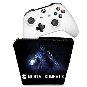 Capa Xbox One Controle Case - Mortal Kombat X - Subzero