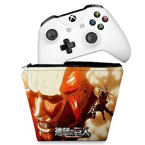 Capa Xbox One Controle Case - Attack on Titan #B