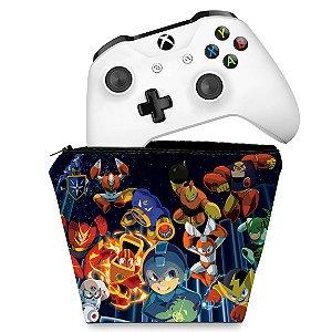 Capa Xbox One Controle Case - Megaman Legacy Collection