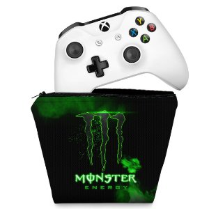 Capa Xbox One Controle Case - Monster Energy Drink