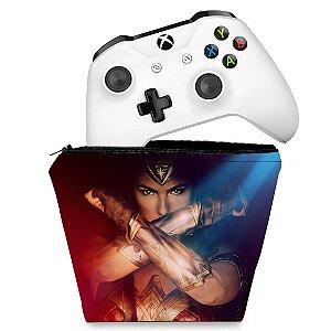 Capa Xbox One Controle Case - Mulher Maravilha