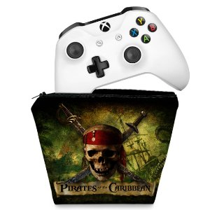 Capa Xbox One Controle Case - Piratas do Caribe