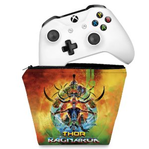 Capa Xbox One Controle Case - Thor Ragnarok