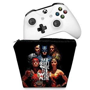 Capa Xbox One Controle Case - Liga da Justiça