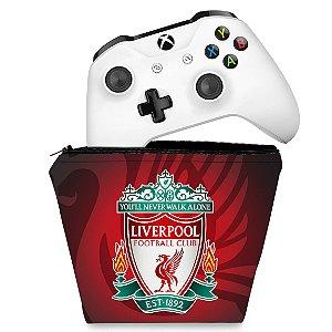 Capa Xbox One Controle Case - Liverpool