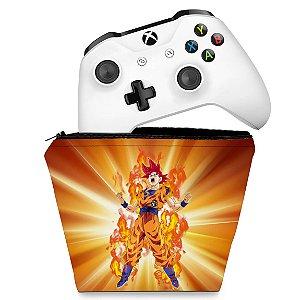 Capa Xbox One Controle Case - Dragon Ball Super Goku