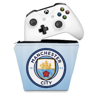 Capa Xbox One Controle Case - Manchester City FC