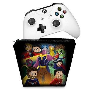Capa Xbox One Controle Case - Lego Avengers Vingadores