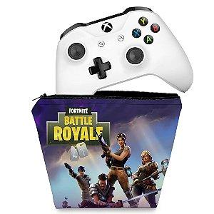 Capa Xbox One Controle Case - Fortnite Battle Royale