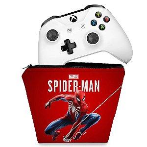 Capa Xbox One Controle Case - Homem Aranha Spider-man