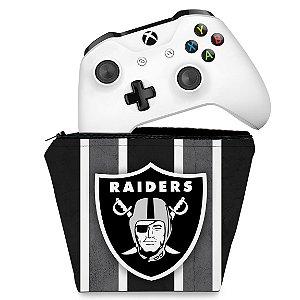 Capa Xbox One Controle Case - Oakland Raiders NFL