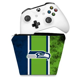 Capa Xbox One Controle Case - Seattle Seahawks - NFL