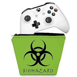 Capa Xbox One Controle Case - Biohazard Radioativo