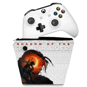 Capa Xbox One Controle Case - Shadow Of The Tomb Raider