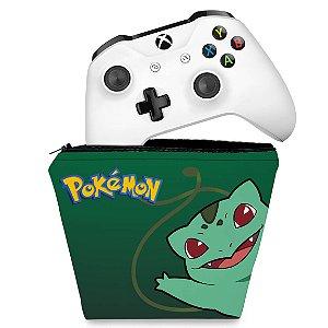 Capa Xbox One Controle Case - Pokemon Bulbasaur