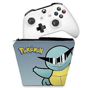 Capa Xbox One Controle Case - Pokemon Squirtle