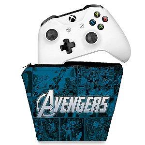 Capa Xbox One Controle Case - Avengers Vingadores Comics