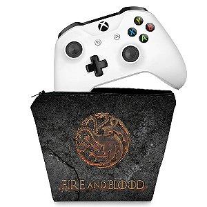 Capa Xbox One Controle Case - Game of Thrones Targaryen