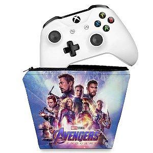 Capa Xbox One Controle Case - Vingadores Ultimato Endgame