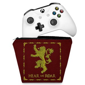 Capa Xbox One Controle Case - Game Of Thrones Lannister