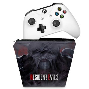 Capa Xbox One Controle Case - Resident Evil 3 Remake