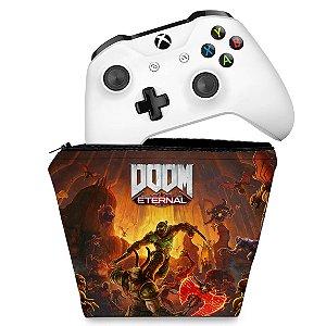 Capa Xbox One Controle Case - Doom Eternal