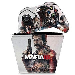 KIT Capa Case e Skin Xbox One Fat Controle - Mafia 3
