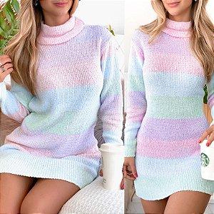 Tricô Candy Vestido Blusa