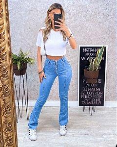 Calça Flare Jeans 0107