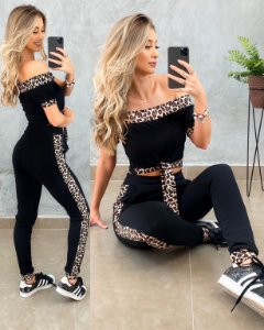 Conjunto Bia Animal Print
