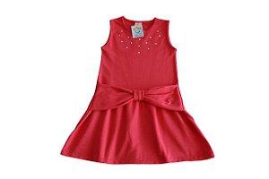 Vestido Infantil Rosa Abrange - Tamanho 3