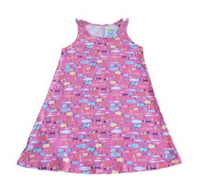 vestido regatinha malwee tamanho 4