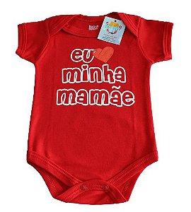 Body unissex  Doctor Baby vermelho