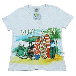 Camiseta Surf tamanho 2 abrange