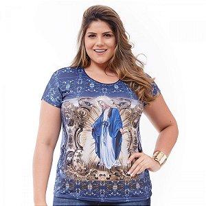 Camisa Feminina estampa Nossa Senhora Das Graças