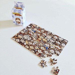Quebra-Cabeça Difícil 60 peças
