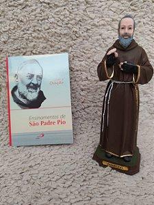 Imagem Resina São Padre Pio 20 CM